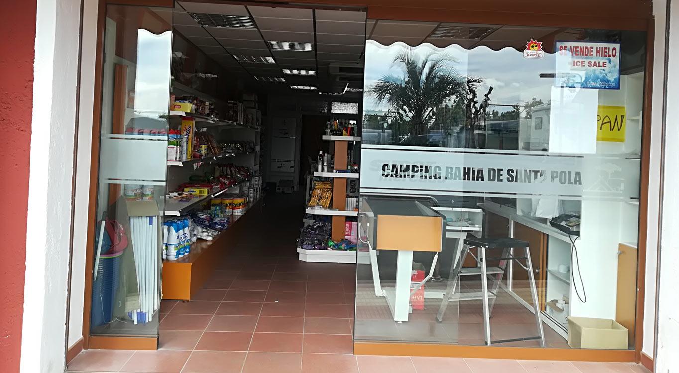 Supermercado Camping Bahia Santa Pola 1