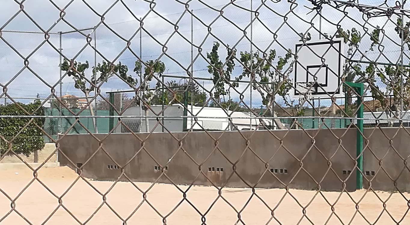 Zona Deportiva Camping Bahia Santa Pola 1