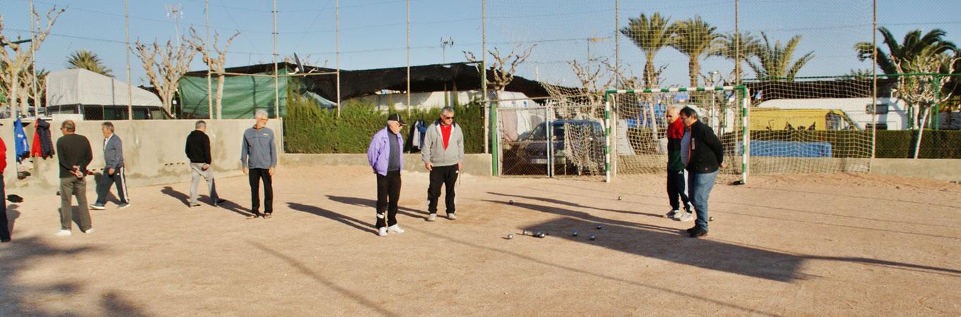 Zona Deportiva Camping Bahia Santa Pola